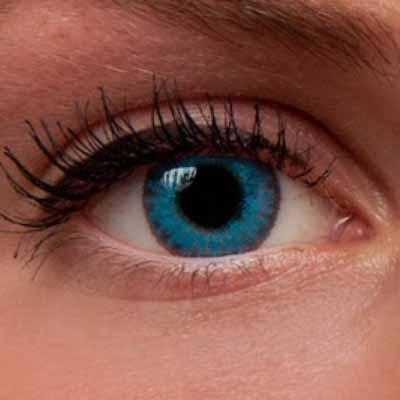 """Интернет магазин цветных линз для глаз Украина. Купить цветные линзы для глаз """"Brilliant Blue"""" недорого!"""