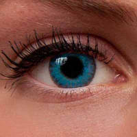 """Интернет магазин цветных линз для глаз Украина. Купить цветные линзы для глаз """"Brilliant Blue"""" недорого!, фото 1"""