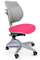 Кресло Mealux Speed Ultra KP (арт.Y-1017 KP) спинка серая / обивка розовая