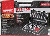 Набор инструмента Rupez RTS-108 (чемодан), фото 1