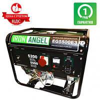 Генератор бензиновый IRON ANGEL EG 5500 E3 (5.5 кВт)