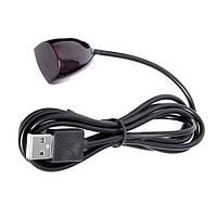 Инфракрасный выносной USB приемник пульта AV-техники, 1м (02688)