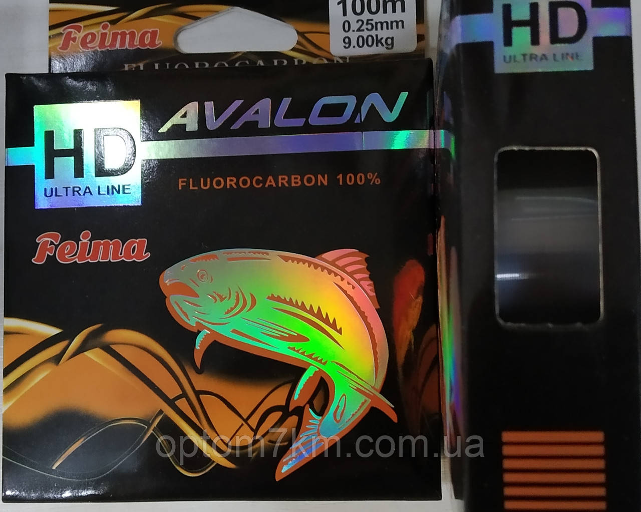 Леска Feima Avalon 100m 0,25-0,40