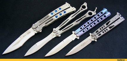 Ножі-балисонги (ножі-метелики)