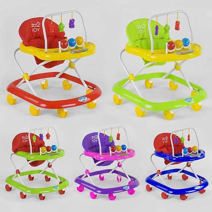 Ходунки JOY 992 (6) 6 цветов, музыкальная панель, в коробке