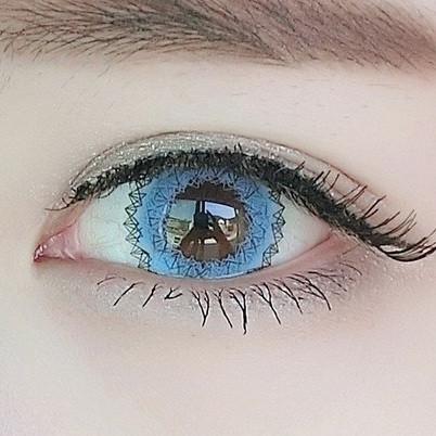 Голубые цветные линзы для глаз купить в интернет-магазине по самым низким ценам в Украине!