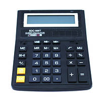 Калькулятор настольный бухгалтерский 20х15см 12-разрядный SDC-888T (03985)