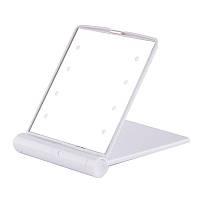Карманное зеркальце с LED подсветкой, зеркало (00198)