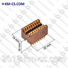 ІВ панелька DIP Панелька РС1-16-1