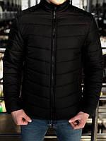 Куртка мужская демисезонная до 0* С Memoru X black / пуховик весенне-осенний