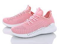 """Кроссовки летние женские """"AMG"""" #T5-7. р-р 37-41. Цвет розовый. Оптом"""