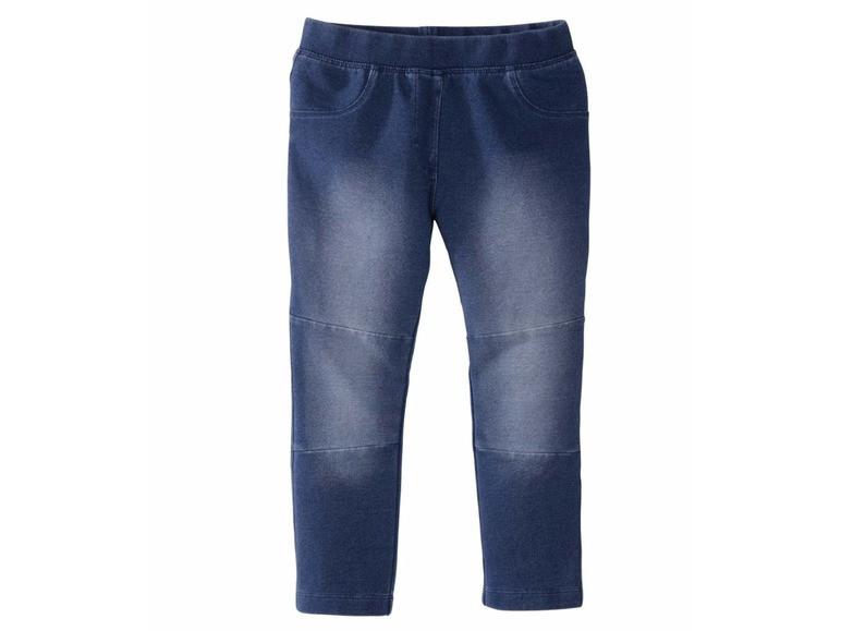 Джегинсы синие стрейчевый под джинс Lupilu (Германия) IAN 293773 р.110/116