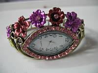 """Ювелирные часы """"Розовый сад""""  от студии LadyStyle.Biz"""