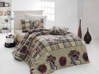 Комплект постельного белья ранфорс  Nazenin полуторный размер College