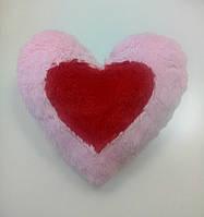 М'яка іграшка-подушка Два серця, 37 см