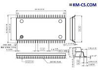 ИС, Flash TB28F400BX-T80 (Intel)