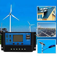 Контроллер заряда солнечной батареи KW1230 ШИМ 12/24В 30А (03553)
