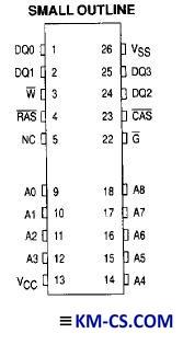 ИС, SDRAM MCM514256AJ10 (Freescale)