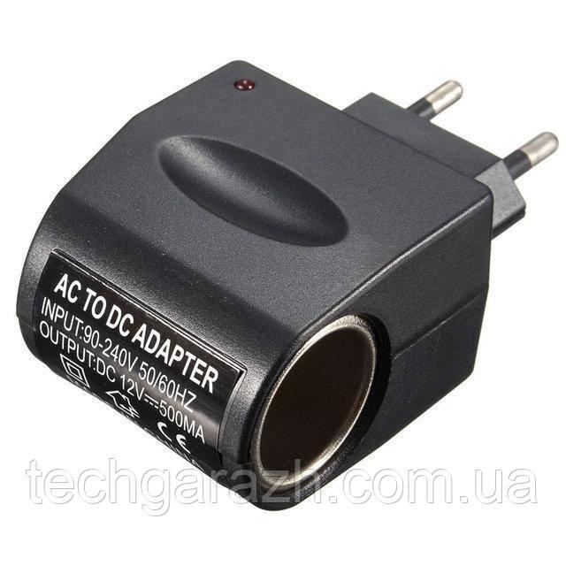 Адаптер прикуриватель 220V 12V Спартак Switch (004457)