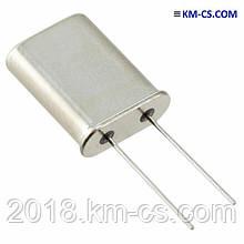 Кварц мікропроцесорний HC49 Кварц. резонатор 10.000 MHz HC49U