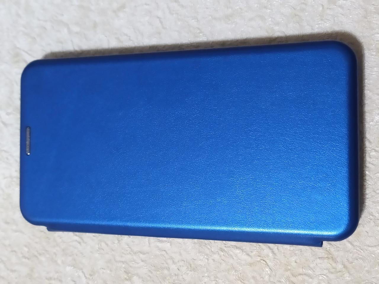 Чохол - книга Premium для Samsung A20s 2019 (синій)