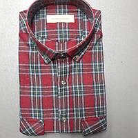 Турецкая кашемировая рубашка в клетку PALMEN (размер L)