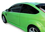 Дефлектори вікон вставні Ford Focus 2004-2011 3D, 2шт, фото 3