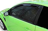 Дефлектори вікон вставні Ford Focus 2004-2011 3D, 2шт, фото 4