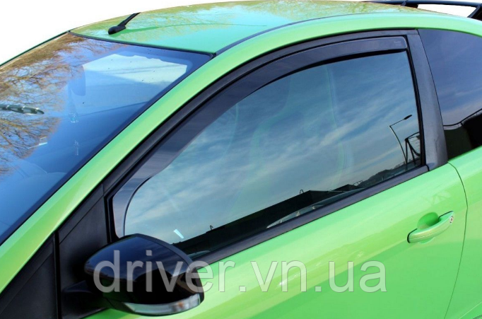 Дефлектори вікон вставні Ford Focus 2004-2011 3D, 2шт