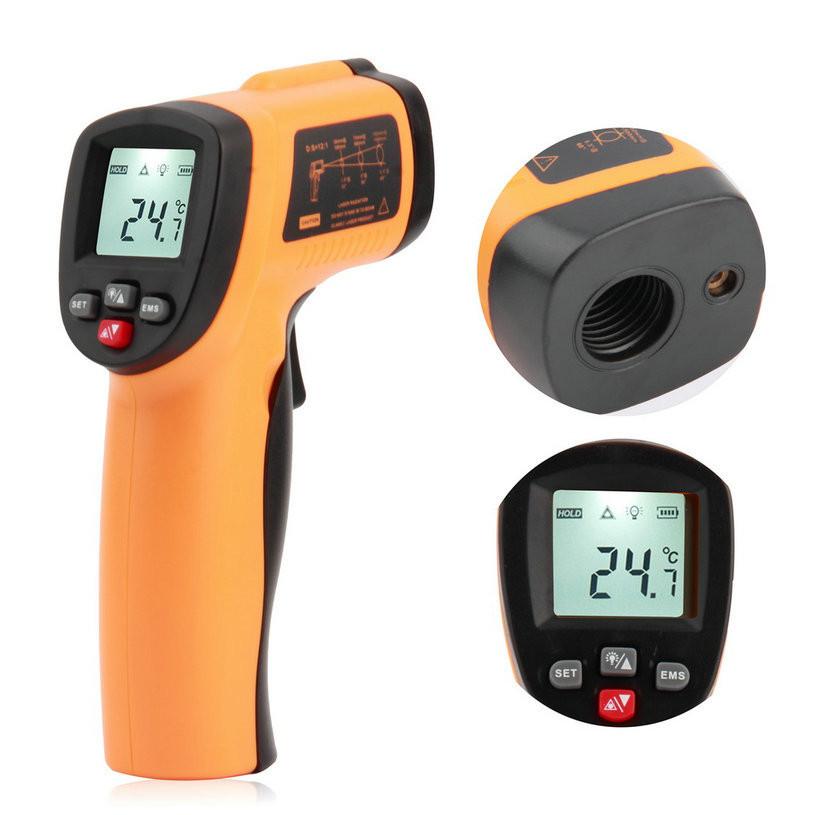 Бесконтактный инфрокрасный термометр пирометр с EMS Benetech GM550E