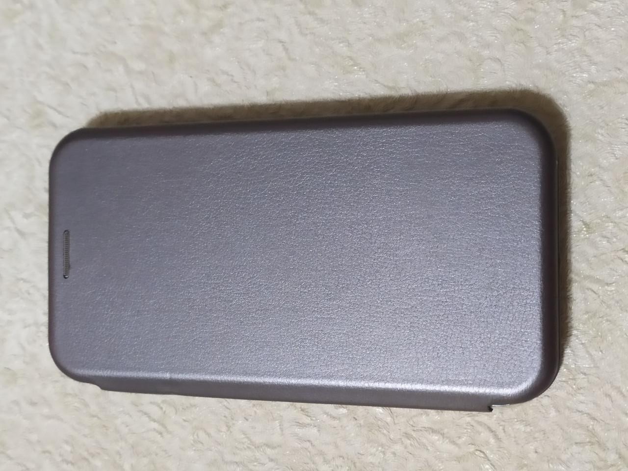 Чехол- книга Premium для Samsung J500 / J5   2015 (серебро)