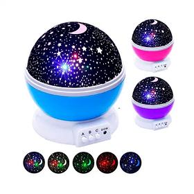 Вращающийся ночник-проектор звездного неба 3D Star master