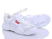 """Кроссовки демисезонные женские """"Bayota"""" #B1918-3. р-р 36-41. Цвет белый. Оптом"""