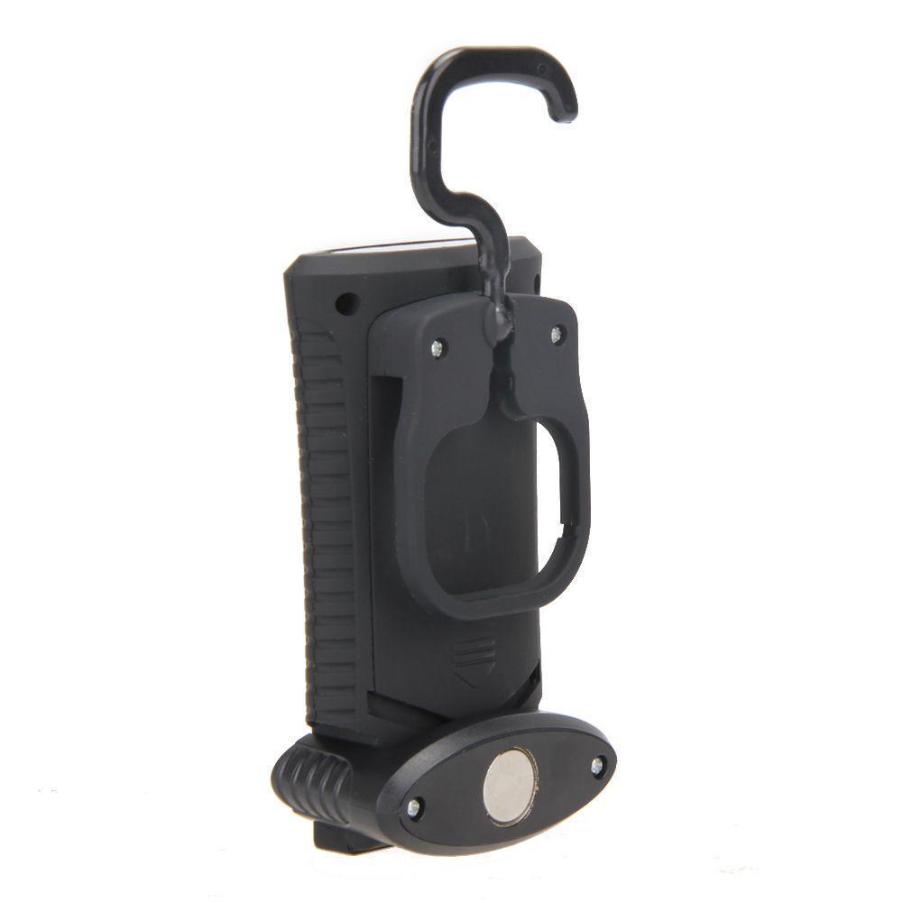 Лампа фонарь с магнитом и крючком 1COB+3SMD LED для палатки кемпинга