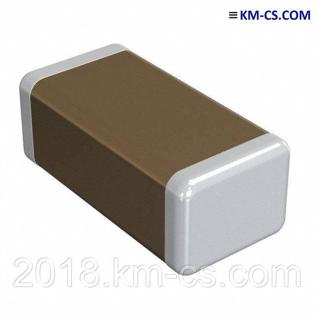 Конденсатор керамический, чип C-1206 1.0uF 10% 50V X7R // CL31B105KBHNNNE (Samsung)