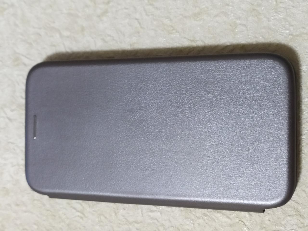 Чехол- книга Premium для  iPhone 11  2019  6.1  (серебро)