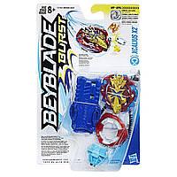Бейблейд Xcalius X2 c пусковым устройством Beyblade Экскалиус Х2 Hasbro Экскалибур