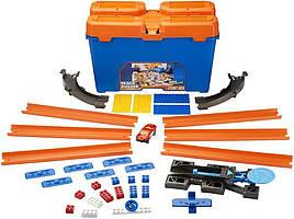 Игровой набор Трек Хот Вилс Игра без границ Hot Wheels Track Builder Stunt Box