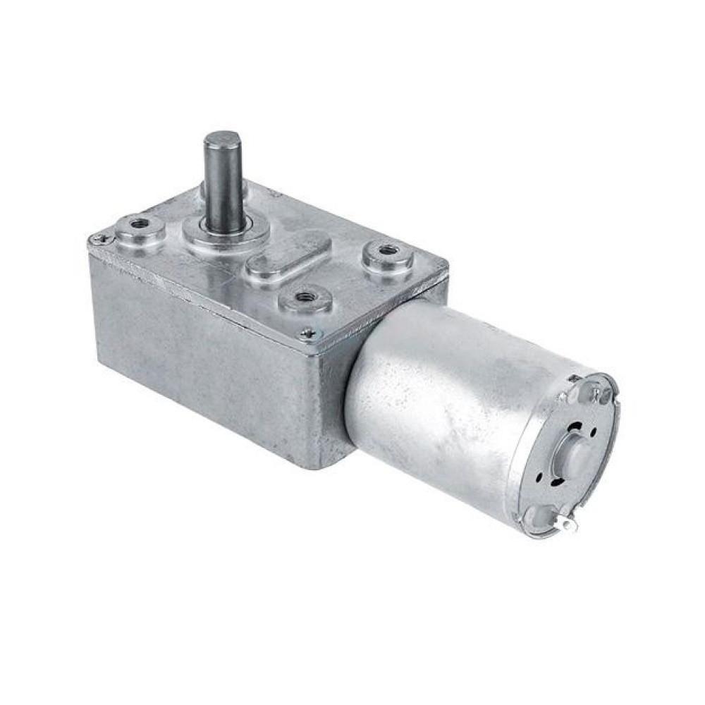 Мотор редуктор червячный JGY-370 6В 40об/мин