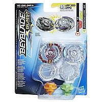 Набор Бейблейдов Думсайзор Д2 и Тайрос Т2 Beyblade Burst Beyblade Burst Evolution Dual  Tyros T2 Doomscizor D2