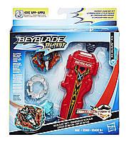 Набор Бейблейд Xcalius X3 Эволюция c пусковым устройством Beyblade Экскалиус Х3 Hasbro Экскалибур