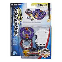 Бейблейд Турбо Зейтрон Z3 Эволюция c пусковым устройством BeyBlade Zeutron Z3 Оригинал Hasbro