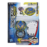 Бейблейд Турбо Трептун Т3 Эволюция c пусковым устройством BeyBlade Tide Treptune T3 Оригинал Hasbro