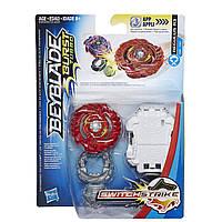 Бейблейд Регулус Р3 Турбо c пусковым устройством Beyblade Burst Turbo SwitchStrike Regulus R3 Hasbro