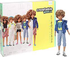 Кукла Creatable World Создаваемый Мир Deluxe светлые кудрявые волосы от Mattel