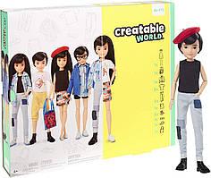 Кукла Creatable World Создаваемый Мир Deluxe темные прямые волосы от Mattel