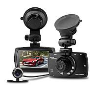 Видеорегистратор на две камеры G30B. FullHD, разрешение 1920x1080р