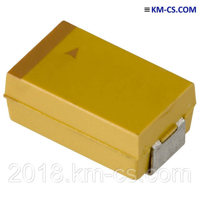 Конденсатор танталовый TAJE477K010R (AVX)