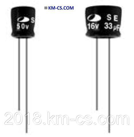 Конденсатор электролитический C-EL 2.2uF 63V // SE1J225M04005PC459 (SAMWHA)