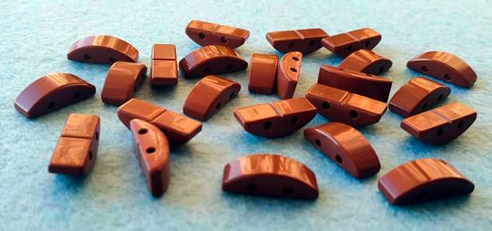 Звенья турманиевые для браслетов (М-26)